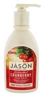 Image of Jason Natural Products - Satin Shower Body Wash Cranberry - 30 oz.