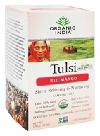Organic India - Tulsi Tea Red Mango - 18 Tea Bags by Organic India