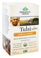 Organic India - Tulsi Tea Vanilla Creme - 18 Tea Bags, from category: Teas