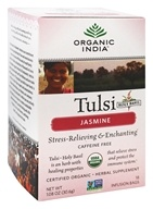 Organic India - Tulsi Tea Jasmine - 18 Tea Bags, from category: Teas