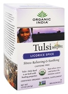 Organic India - Tulsi Tea Licorice Spice - 18 Tea Bags