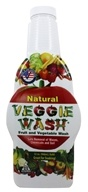 Image of Veggie Wash - Natural Fruit and Vegetable Wash Refill - 32 oz.