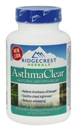 Ridgecrest Herbals - AsthmaClear Natural Asthma Relief - 60 Vegetarian Capsules