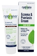 Eczema and Psoriasis Cream Non Steroidal Natural Homeopathic Alternative - 2 fl. oz.