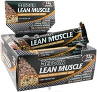 Forward Foods - Detour Lean Muscle Bar Cookie Dough Caramel Crisp - 3.2 oz.