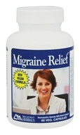 Ridgecrest Herbals - Migraine Relief with Corydalis - 60 Capsules, from category: Homeopathy