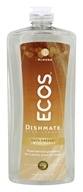 Earth Friendly - Amande de liquide de plat d'ECOS Dishmate - 25 once.
