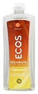 Image of Earth Friendly - Dishmate Ultra Liquid Dishwashing Cleaner Natural Apricot - 25 oz.