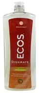 Earth Friendly - Dishmate Ultra Liquid Dishwashing Cleaner Natural Grapefruit - 25 oz. - $3.47