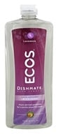 Earth Friendly - Dishmate Ultra Liquid Dishwashing Cleaner Natural Lavender - 25 oz.