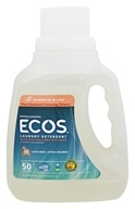 Earth Friendly - ECOS Hypoallergenic Laundry Detergent with Built-In Fabric Softeners Magnolia & Lily - 50 oz.