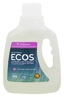 Image of Earth Friendly - ECOS Laundry Detergent All Natural Lavender - 100 oz.