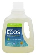 Earth Friendly - ECOS Laundry Detergent All Natural Lemongrass - 100 oz., from category: Housewares & Cleaning Aids