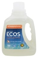 Image of Earth Friendly - ECOS 2X Ultra Laundry Detergent Magnolia & Lily - 100 oz.