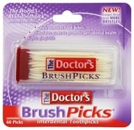 Doctor's - BrushPicks Interdental Toothpicks - 60 Pick(s) by Doctor's