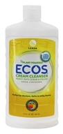 Image of Earth Friendly - Creamy Cleanser Multi-Use Non-Abrasive Cleaner Natural Lemon - 17 oz.