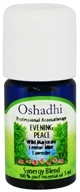 Oshadhi - Professional Aromatherapy Evening Peace Synergy Blend Essential Oil - 5 ml.