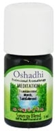 Oshadhi - Professional Aromatherapy Meditation Synergy Blend Essential Oil - 5 ml., from category: Aromatherapy
