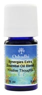 Image of Oshadhi - Professional Aromatherapy Positive Thoughts Synergy Blend Essential Oil - 5 ml.