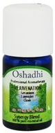 Image of Oshadhi - Professional Aromatherapy Rejuvenation Synergy Blend Essential Oil - 5 ml.