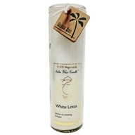 Aloha Bay - White Lotus Chakra Jar Candle Unscented - 17 oz., from category: Aromatherapy
