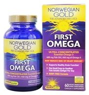 ReNew Life - Norwegian Gold Ultimate Fish Oil First Omega - 60 Gelcaps by ReNew Life