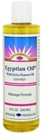 Heritage - Egyptian Oil With Extra Peanut Oil Massage Formula - 8 oz., from category: Personal Care