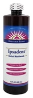 Image of Heritage - Ipsadent Herbal Mouthwash - 16 oz.