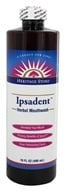 Heritage - Ipsadent Herbal Mouthwash - 16 oz. (076970554478)
