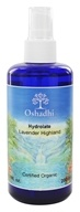 Oshadhi - Professional Aromatherapy Floral Water Organic Highland Lavender - 200 ml.