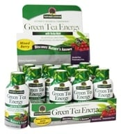Nature's Answer - Green Tea Energy Shot with Yerba-Mate Mixed Berry - 2 oz. (083000017001)