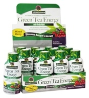 Image of Nature's Answer - Green Tea Energy Shot with Yerba-Mate Mixed Berry - 2 oz.
