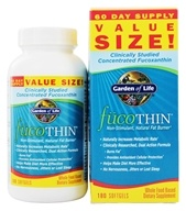 Garden of Life - FucoTHIN Concentrated Fucoxanthin - 180 Softgels Contains Brown Seaweed, from category: Diet & Weight Loss