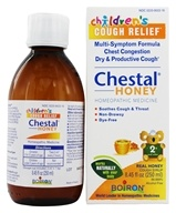Boiron - Chestal Honey For Children Homeopathic Cough Syrup - 8.45 oz.