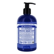 Dr. Bronners - Magic Shikakai Soap Organic Spearmint-Peppermint - 12 oz.