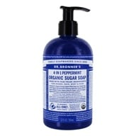 Image of Dr. Bronners - Magic Shikakai Soap Organic Spearmint-Peppermint - 12 oz.