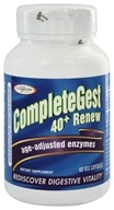 Image of Enzymatic Therapy - CompleteGest 40+ Renew Age-Adjusted Enzymes - 60 Vegetarian Capsules