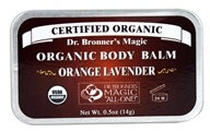 Dr. Bronners - Magic Organic Balm Orange Lavender - 0.5 oz.