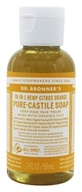 18-in-1 Hemp Pure Castile Liquid Soap Citrus Orange - 2 fl. oz. by Dr. Bronners