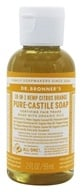 Dr. Bronners - Magic Pure-Castile Soap Organic Citrus Orange - 2 oz. - $2.87