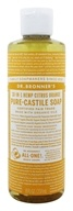 Dr. Bronners - Magic Pure-Castile Soap Organic Citrus Orange - 8 oz.