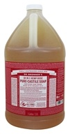 Dr. Bronners - Magic Pure-Castile Soap Organic Rose - 128 oz. - 1 Gallon (018787778654)