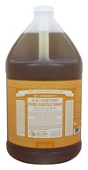 Dr. Bronners - Magic Pure-Castile Soap Citrus Orange - 128 oz. - 1 Gallon