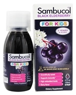 Sambucol - Black Elderberry For Kids Liquid - 4 oz., from category: Herbs
