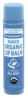 Dr. Bronners - Magic Organic Lip Balm Naked - 0.15 oz.
