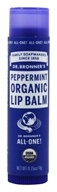 Dr. Bronners - Magic Organic Lip Balm Peppermint - 0.15 oz.