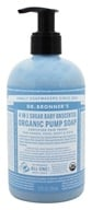 Dr. Bronners - Magic Shikakai Soap Organic Baby Unscented - 12 oz.
