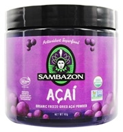 Sambazon - Power Scoop Organic Freeze Dried Acai Powder Drink Mix - 90 Grams (818411000225)