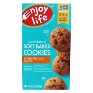 Enjoy Life Foods - Gingerbread Spice Cookies - 6 oz. by Enjoy Life Foods