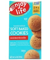Gluten Free Allergy Friendly Soft Baked Cookies Snickerdoodle - 6 oz. by Enjoy Life Foods